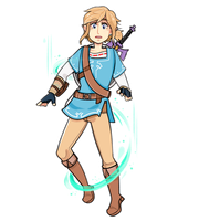 link floating away from his responsibilities by BeThePiano