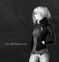 White by WhiteKuroe