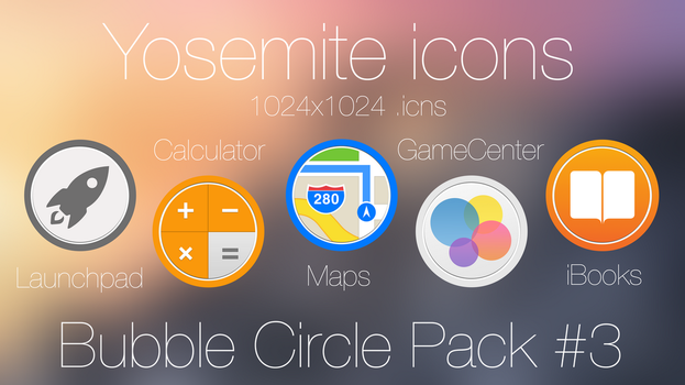 Bubble Circle icon Pack 3 by scafer31000