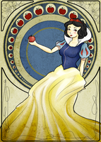 Snow white by MorwenHelyanwe