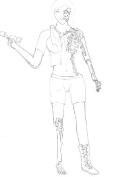 random Android sketch by CDSZombieslaughter