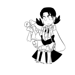 magical girl kris! by ooglycheez