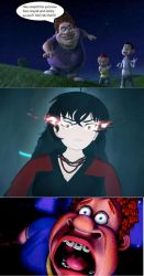 SPOILERS V5C12! - Angry Raven Branwen vs Snotty by IceyM-95