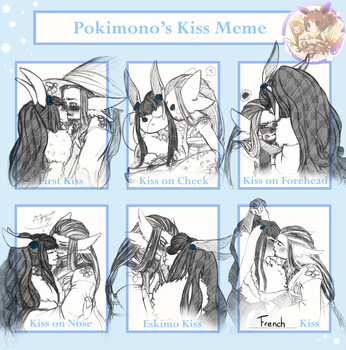 Pokimono : Yuya Kiss Meme by kittytheAngel