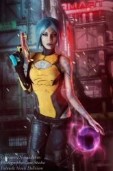Maya from Borderlands 2 by Sivali-Delirium