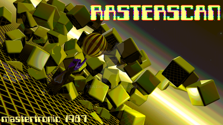 Rasterscan tribute 256C by b3lz3bu