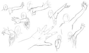 Arm + Hand Study by KlakKlak