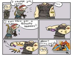 The Witcher 2, doodles 6 by Ayej