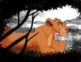 Rotani The Lioness by dyb