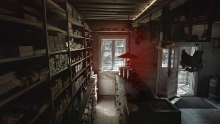 An old shop by Pajunen