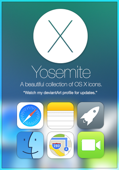 'Yosemite' Icon Collection - Preview Released! by winsontsang