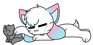 all i wanna do is pet ur cattos by ghostkiinq