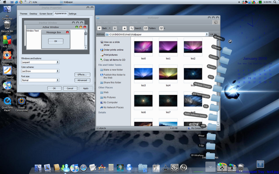 Leopard10.6 Theme for XP by AdminAdmin