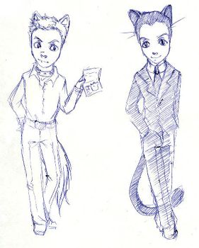 Lestrade, Moriarty by Stefany-376