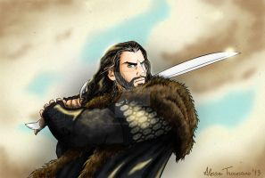 Thorin Oakenshield by Voodoo--Dolly