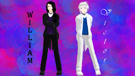 {MMD} William and Victor Thomson by percephine