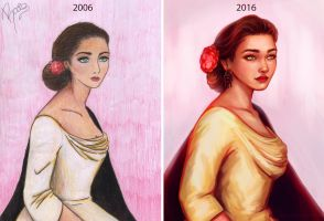 10 years of evolution by RocioRodriguez