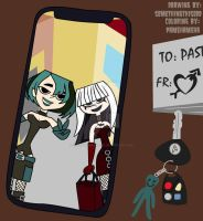 Gwen and Crimson: Goth Girls Night Out Selfie  by SOMETHINGthisODD