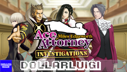 Dollargame | Ace Attorney Investigations by Dollarluigi