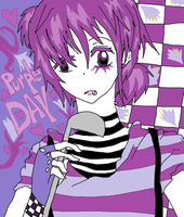PURPLE DAY by KiyaSparleVampire