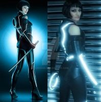 Tron Legacy - Quorra2 by Annisse