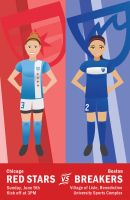 Red Stars vs Breakers by hercircumstance