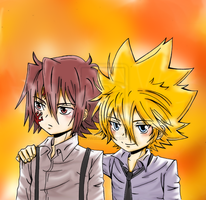 KHR: Giotto and G. by Imperfection22