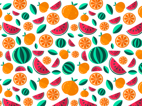 Fruit pattern by Proshoon