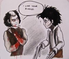 Sweeney Scissorhands by Yellowbellyhill