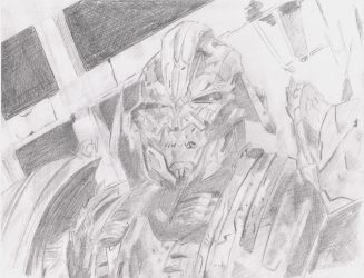 Transformers: The Last Knight - Megatron attempt 2 by MHT002