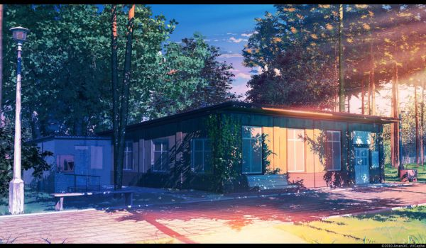 Library Sunset by arsenixc