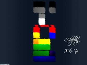 Coldplay Wallpaper: X and Y by JaapvdV