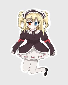 Local goth loli Kobato by cottoncloudyfilly