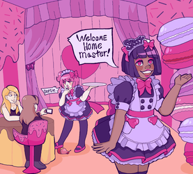 The Maid Cafe (2/2) Welcome by shyselkieprince