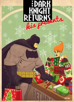 the dark knight returns... his presents by m7781