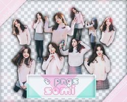[Pack render #103] 8 PNGS Ulzzang Somi by Cold-Team