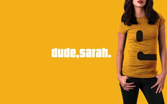 dude, sarah. wallpaper by SPikEtheSWeDe