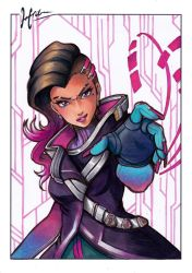 Overwatch - Sombra by Hedrick-CS