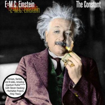 E equals Emcee Einstein by Robotlick