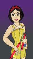 Snow White as Selphie Disney F by HighwindDesign