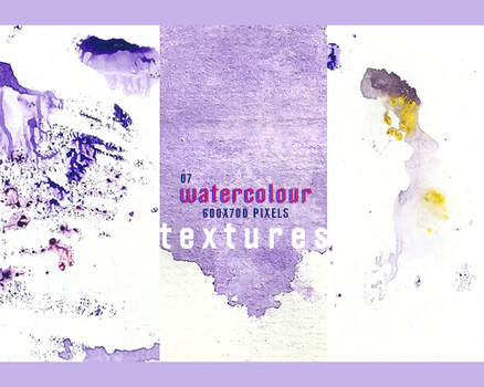 07 Watercolour Textures by innocentLexys
