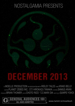 Metroid Stream Promo Poster by Moelleuh