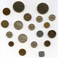 Old Coins II by chrisbouchard