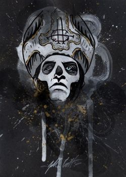 Papa Emeritus III by manfishinc