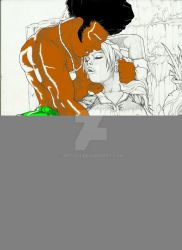 TIGER AND CHRISTIE (WIP) by ARTIS02