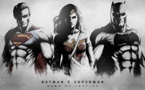 DAWN OF JUSTICE - THE TRINITY by Niyoarts