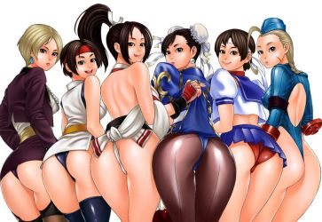 CAPCOM VS SNK Girls by solid-zonda