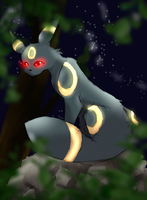 Umbreon by shallowtide