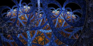 Blue Curves by parrotdolphin