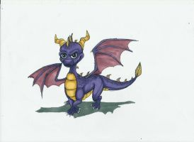 The Legend of Spyro - Spyro by MidoriBara